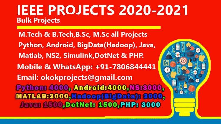 Ieee Mtech Projects Ieee Project in Kochi Ideas